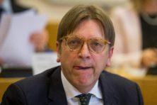 Verhofstadt: 'Tijdelijke douane-unie na Brexit? Een illusie!'