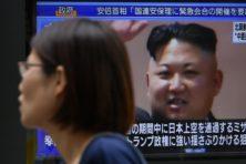 Noord korea schiet raket af