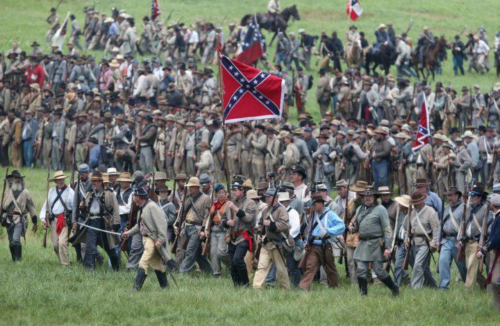 De slag bij Gettysburg wordt nagespeeld door duizenden Amerikanen, 2013