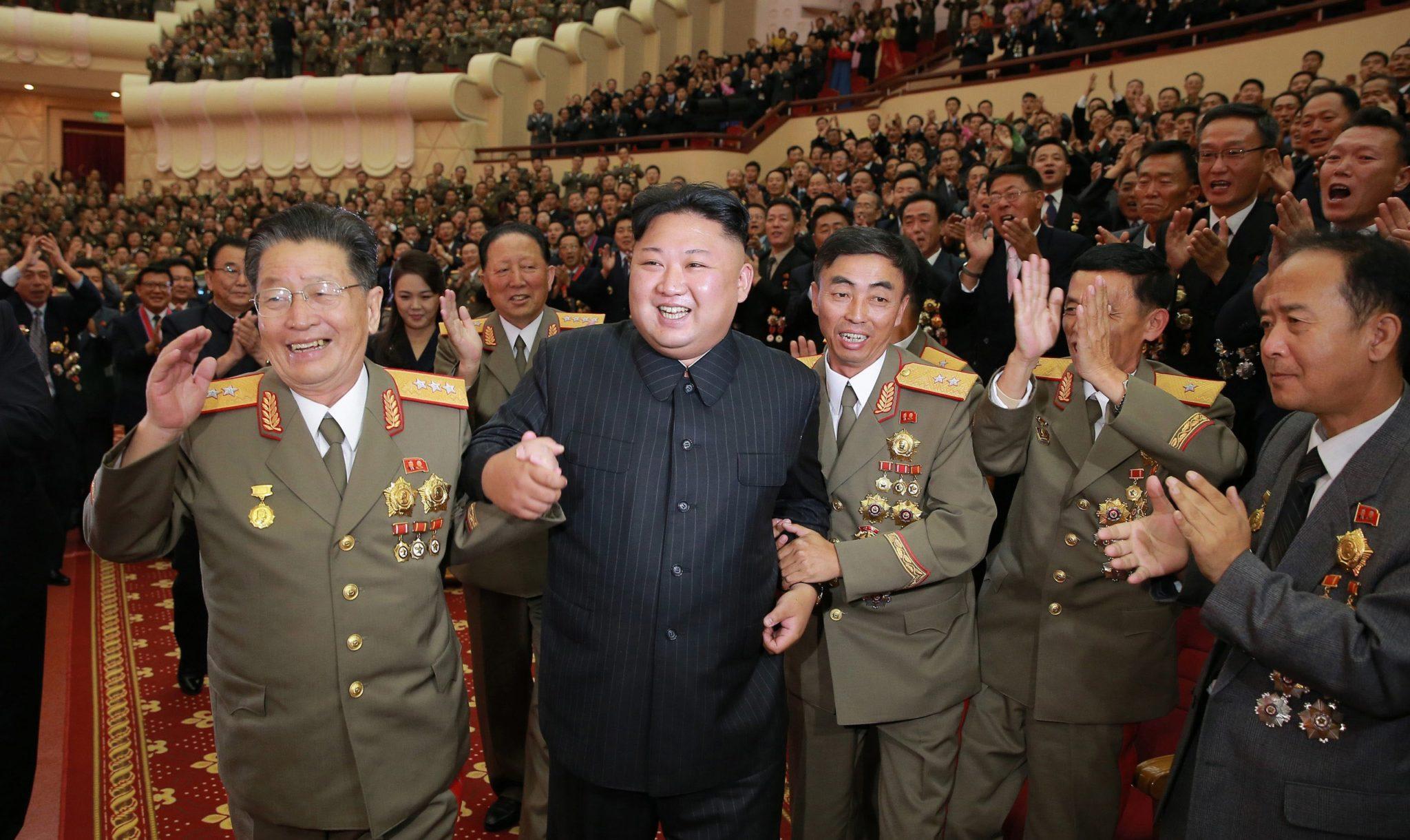 Kim Jung-Un de leider van Noord-Korea