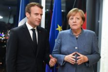 Macron toont Merkel met militaire ruimtemacht hoe Europa daadkrachtig kan zijn