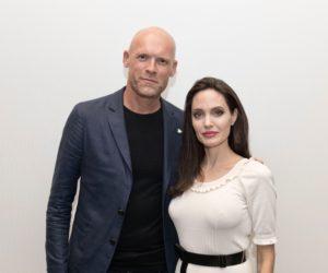 Diederik van Hoogstraten en Angelina Jolie