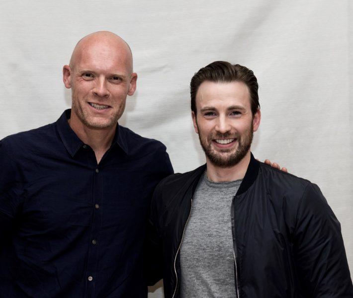 Diederik van Hoogstraten en Chris Evans