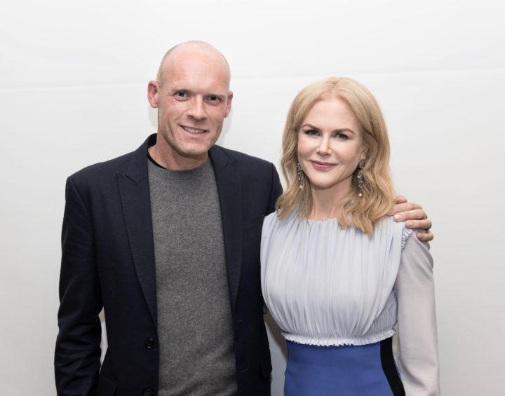 Diederik van Hoogstraten en Nicole Kidman