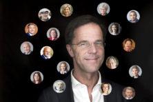 Wie zijn de 100 intimi van Mark Rutte?