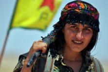 Van IS bevrijd Raqqa is eeuwige vallende ster