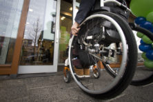'De vrouw in de rolstoel was ik'