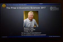 Nobelprijs naar gedragseconoom Thaler