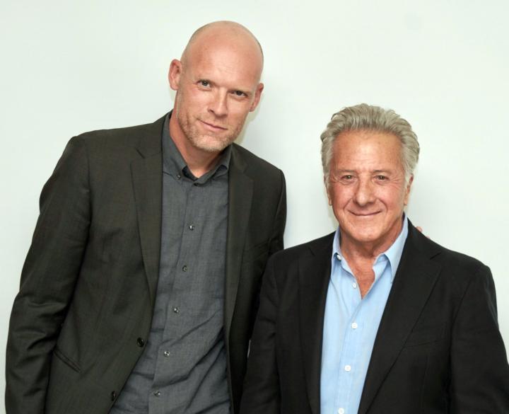 Diederik van Hoogstraten en Dustin Hoffman