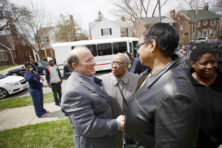 In Detroit: Blanke ster in een zwarte stad
