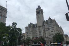 Trumps hotel in Washington: verlengstuk van Witte Huis