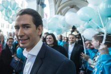 Duidelijke overwinning voor jonge Sebastian Kurz