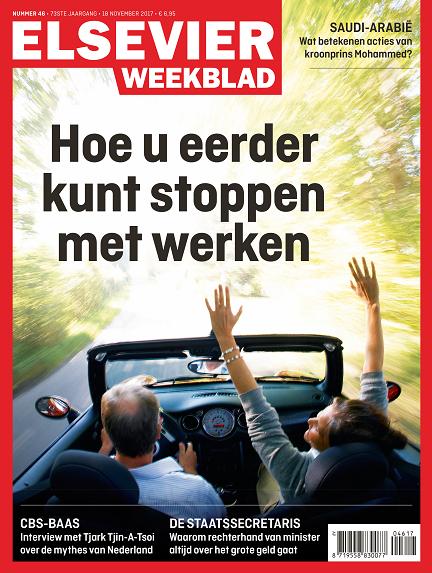 Cover Elsevier Weekblad 46 2017