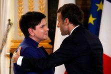 Opeens slikt Macron felle kritiek tegen Polen in