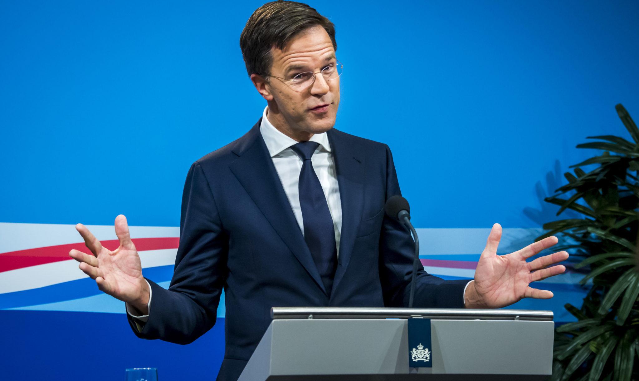 Na De Ministerraad: Rutte's PR-momentje Met Kurz