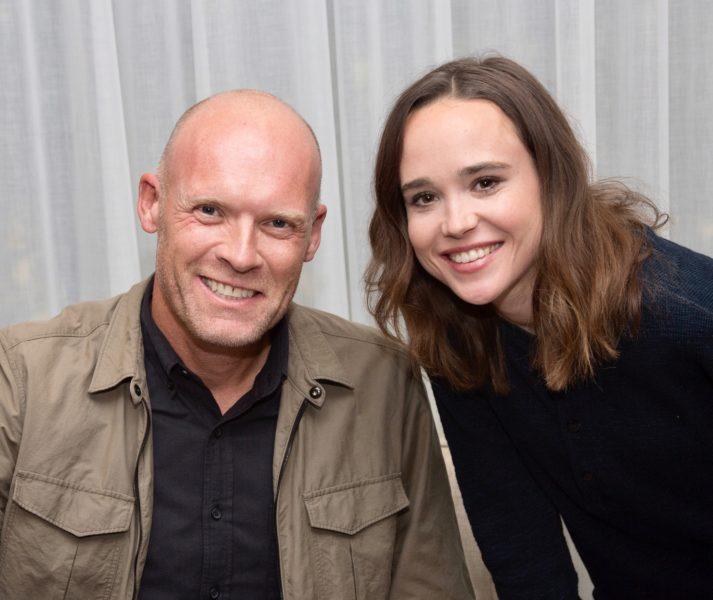 Diederik van Hoogstraten en Ellen Page