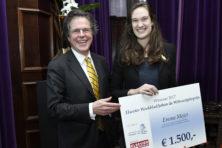 Emma Mojet (UU) wint Johan de Witt-scriptieprijs