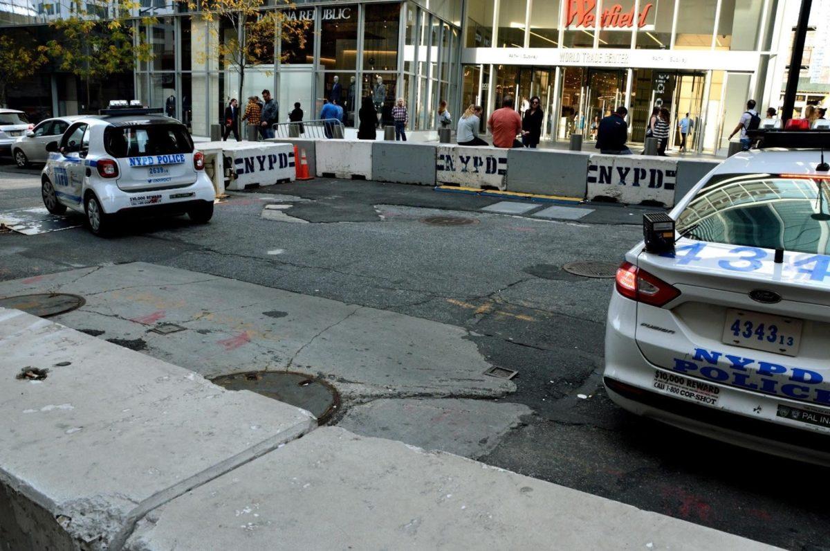 De NYPD staat paraat