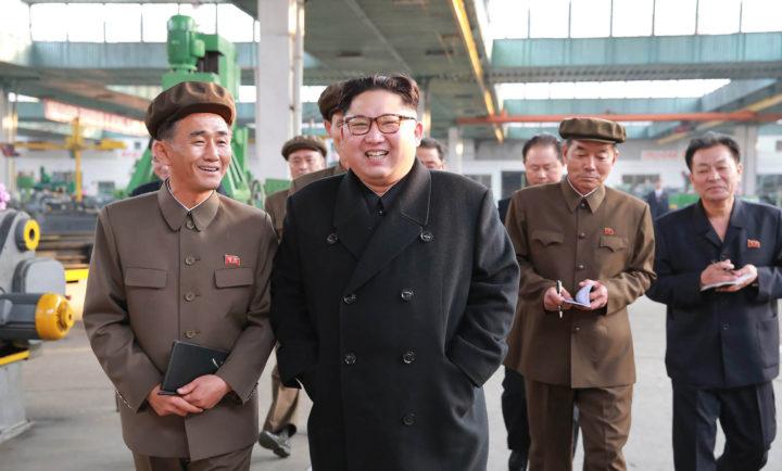 De Noord-Koreaanse leider Kim Jong-un is niet van plan te stoppen met het nucleaire wapenprogramma