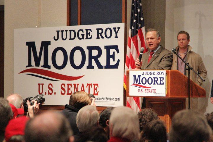 Roy Moore na zijn smadelijke verlies