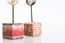 Blokjes vlees opgekweekt uit stamcellen van beroemdheden