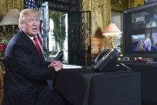 Trumps 2017: tumultueus, maar met resultaten