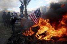 Palestijnen clashen met politie na oproep Hamas