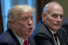 Trump na conflict met stafchef: 'De muur is de muur'