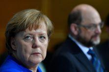 Merkels lot in handen van dwarse SPD-leden