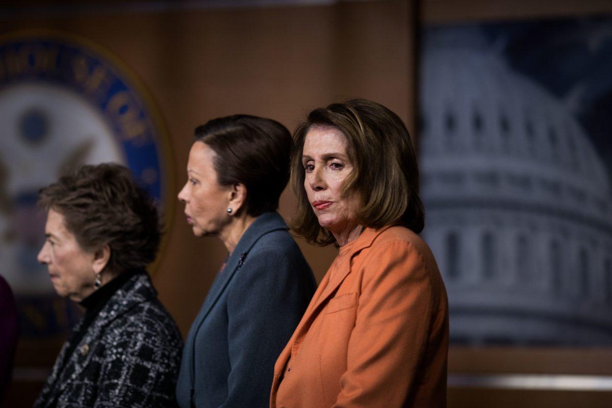 Pelosi en de Democraten gokten op succes van de shutdown