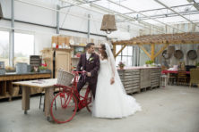 Huwelijk Mark van der Vlugt (32) en Dana Vincenten (26)