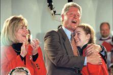 Bill Clinton als voorbeeld voor Trump