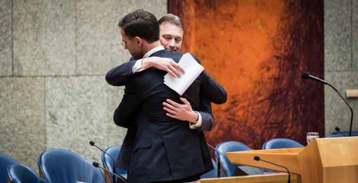 Halbe Zijlstra en Mark Rutte