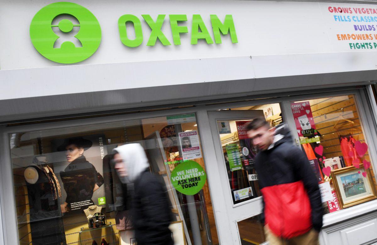 Een Oxfam-kantoor in Londen, Groot-Brittannië. Foto: ANP.