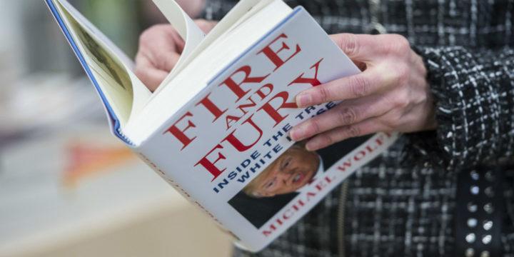 Het boek Fire and Fury