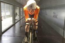 Wielrennen in een nieuwe windtunnel