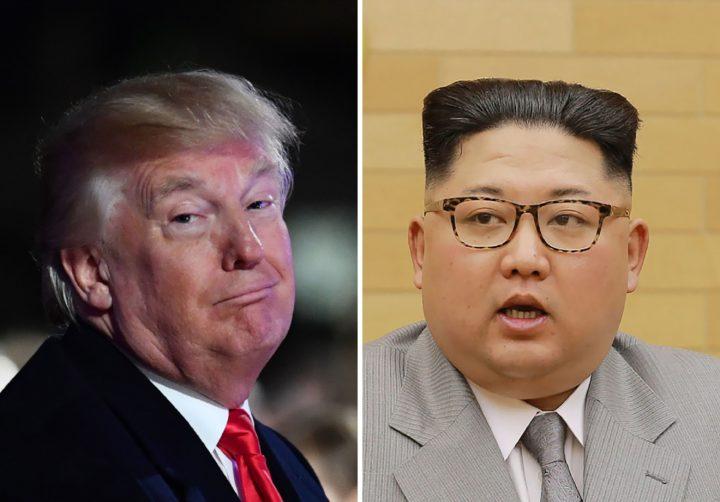 Donald Trump en Kim Jung-un