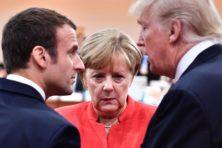 'Waarom Merkel en Macron stiekem heimwee hebben naar president Trump'