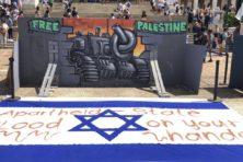 Door geweld geteisterd Zuid-Afrika druk met Israël-boycot