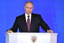 Niet bang wegkruipen voor Poetins nieuwe wapens