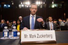 Amerika toont zijn kracht met verhoor Zuckerberg