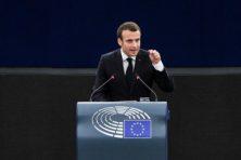 PvdA en D66 prijzen Macron: 'groot contrast met Rutte'