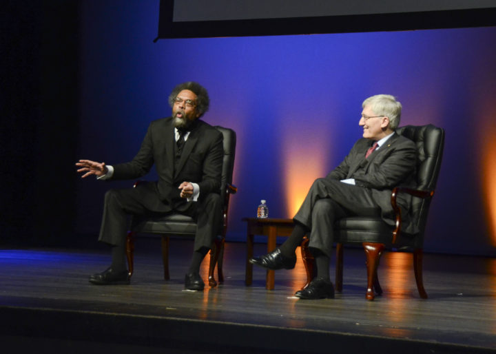 Cornell West en Robert George spreken op de US Air Force Academy in Colorado