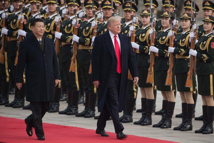 Trump en Xi Jinping