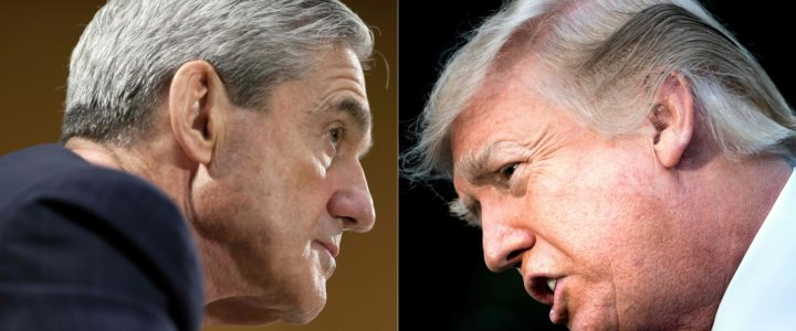 Robert Mueller en Donald Trump