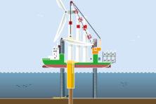 Infographic: zo worden molens in zee gebouwd