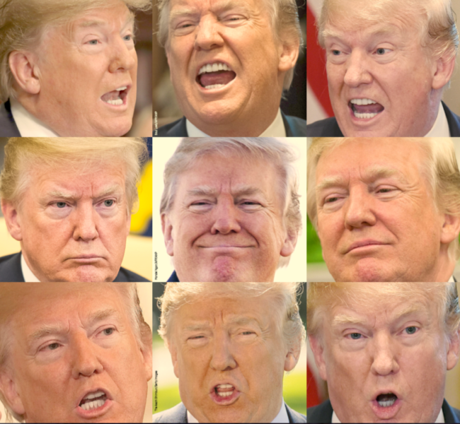 Donald Trump faces
