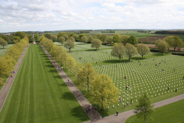 De Amerikaanse begraafplaats Margraten, Zuid-Limburg