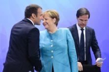 Rutte, behoed EU voor onzalige plannen Merkel en Macron
