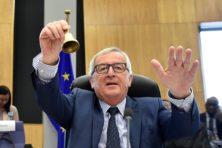 Juncker tegen Italianen: 'Harder werken, en minder corrupt zijn'